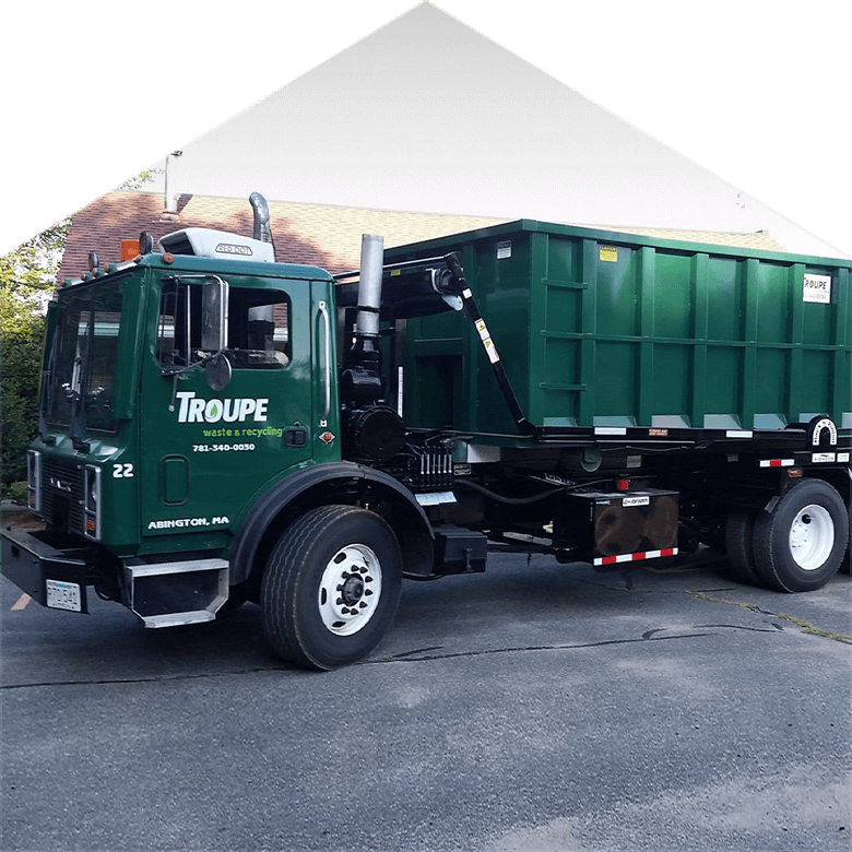 Roll off containter Troupe Waste and Recycling Truck