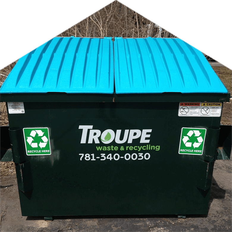 Troupe Waste and Recycling Commercial Container