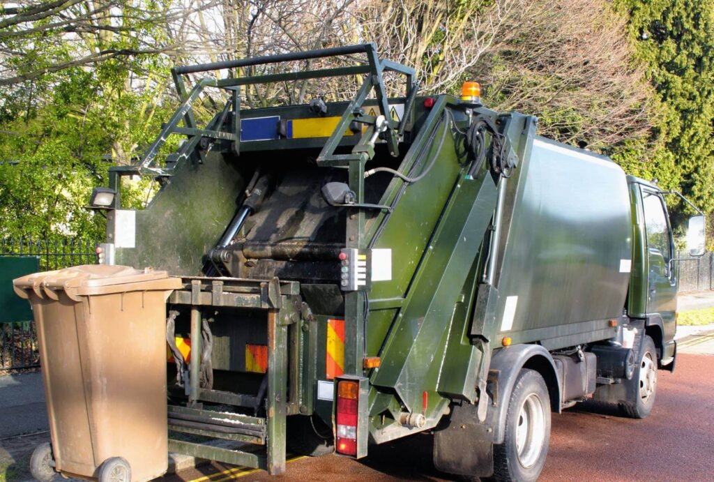 Troupe Waste and Recycling residential waste collection