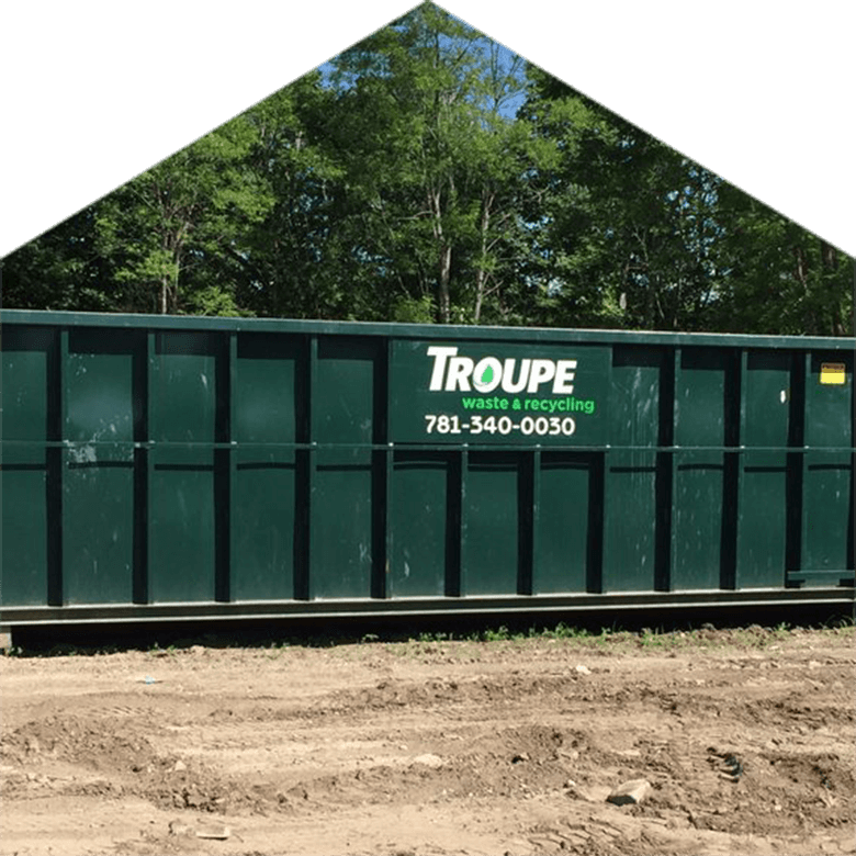 roll off truck Troupe Waste and Recycling Container