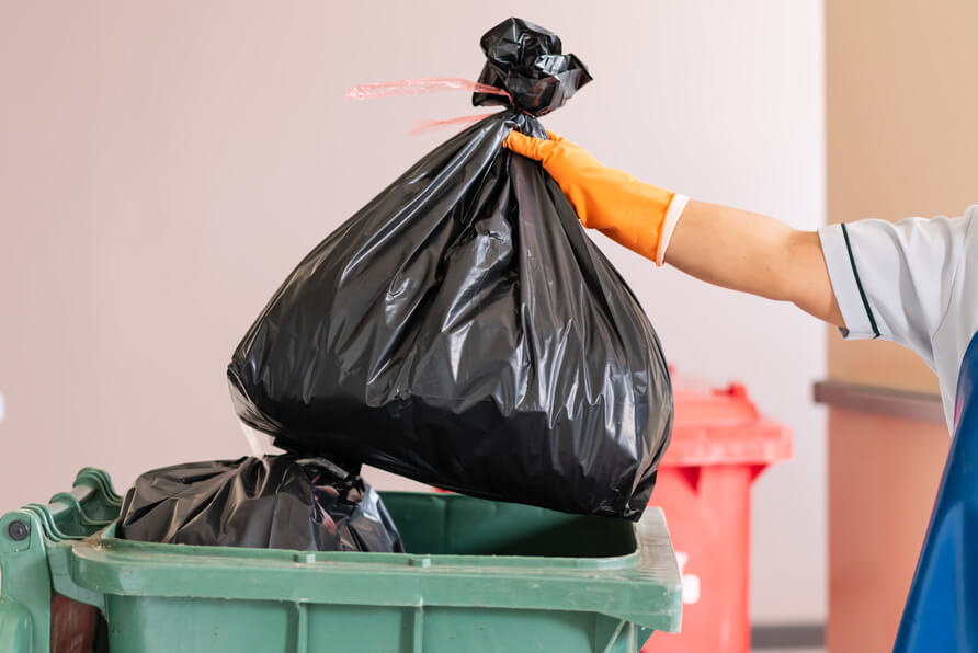 trashbag residential trash pickup South South blog