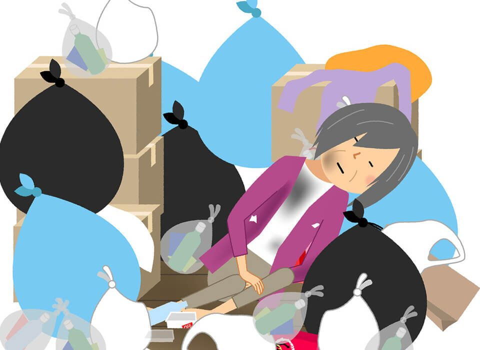 Tips for Garbage Removal for your elderly relative
